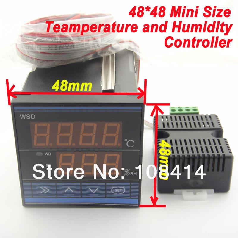 MINI SIZE 1/16  (48*48mm) digital Temperature Humidity Controller