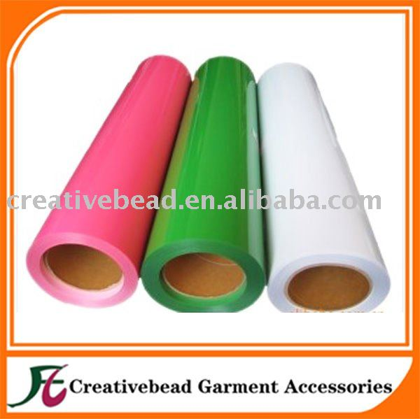 free shipping PU Heat transfer film vinyl(China (Mainland))