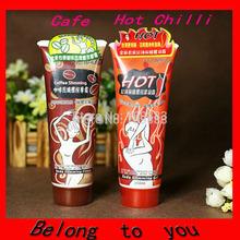 2015 free shipping 10PCS(5PCS Coffee +5 PCS Chilli) 85ML YILI BALO Body Slimming Cream Massage Gel  Weight  Loss Cream