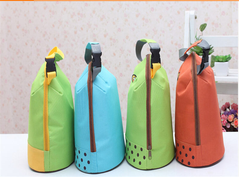 Baby Milk Bottle Insulation Bags Outdoor Lunch Bag Thermal Bag Small Portable Insulated Cooler Picnic Thermal Baby Bottle Bag(China (Mainland))