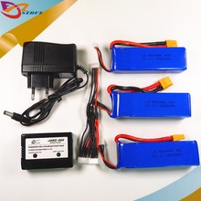Buy CX20 Newest 3pcs Cheerson CX-20 11.1V 2800mah 30C Li-po Battery Charger CX 20 RC Quadcopter Spare Parts Max Rate Toys for $43.46 in AliExpress store