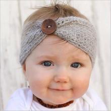 1pcs girl wool knitted headbands winter kids newborn hair head wrap turban headband headwear headwrap hair accessories headdress(China (Mainland))