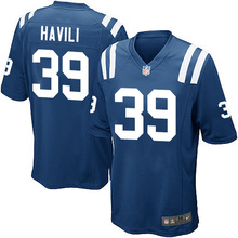 2016 Men Indianapolis Colts #12 Andrew Luck #13 T Y Hilton, Blue Black White 100% stitched logo, free shipping(China (Mainland))