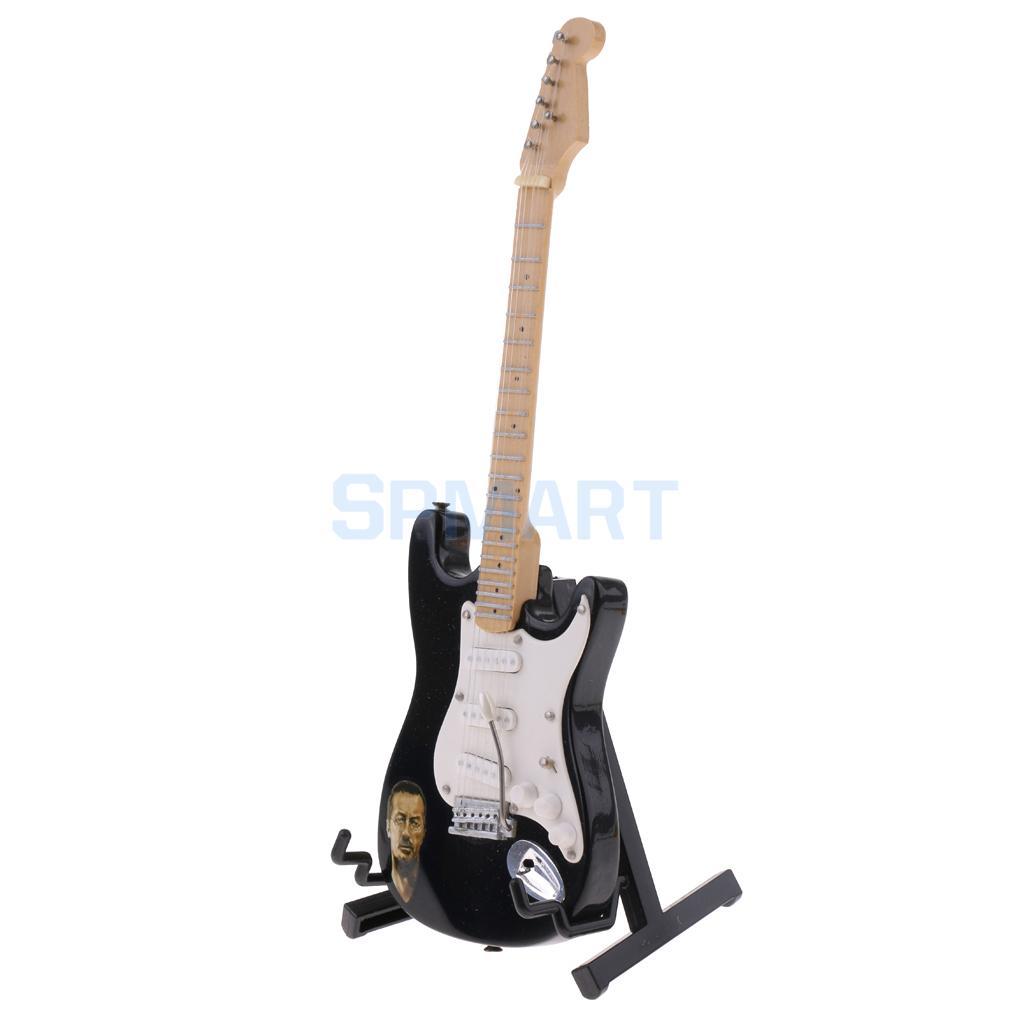 1//6 Electric Guitar Model Action Figure Dollhouse Accessory Instrument Decor