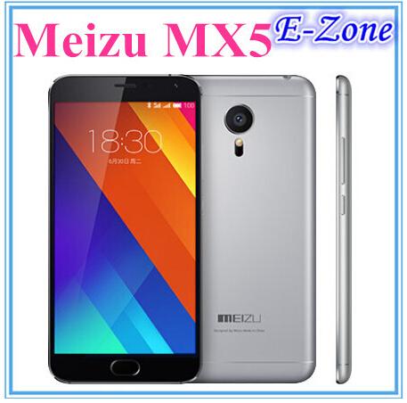 Original Meizu MX5 Dual Sim 4G LTE Mobile Phone MTK6795 Helio X10 Turbo mTouch 2.0 Android 5.0 5.5 Inch IPS 1920X1080 16GB ROM(China (Mainland))