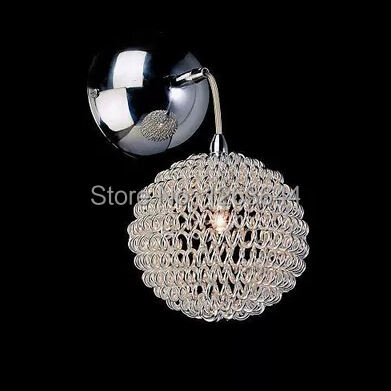 European Simple And Stylish Living Room Wall Lamp Bedroom Bedside Corridor Lighting Flash Spherical Wall Lamp<br><br>Aliexpress
