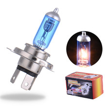 Buy 2PCS H4 12V 55W 4000K Xenon H4 Super White Halogen Car Light Source Bulbs Headlights Auto Lamp Parking Cars for $2.32 in AliExpress store