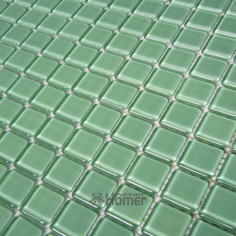 express shipping free!! cheap light blue green glass tiles swimming pool mosaic tiles bathroom glass mosaic(China (Mainland))