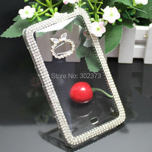 Luxury Phone Case Bling Rhinestone Crystal Phone Cover For Nokia Lumia 625 Clear Diamond Case For Nokia 625 Cover Free Shipping(China (Mainland))
