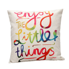 Decorative Letters Sofa Bed Home Decoration Festival Pillow Case Cushion Cover home decor quality first(China (Mainland))