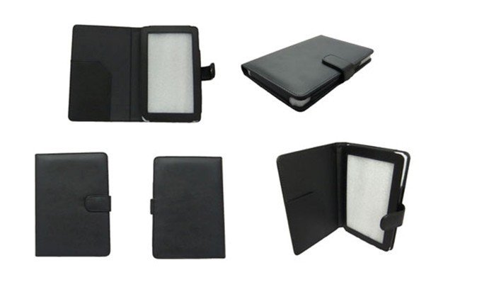 Free EMS ;High Quality Black PU Leather cover case for Nook Color ;For nook color covers and cases ;<br><br>Aliexpress