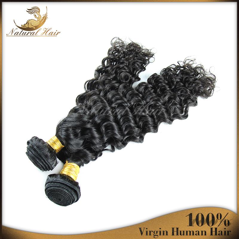 2015 Factory Supply Brazilian Virgin Hair Bundles Deep Wave For Lady Human 6A Grade Unprocessed Virgin Human Hair Extensions<br><br>Aliexpress