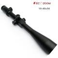 Best long range sniper 10 40 x56 single aluminum 35mm tube long eye relief hunting riflescope