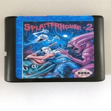 Games Cartridge – Splatter house 2 For 16 bit Sega MegaDrive Genesis Sega Game console