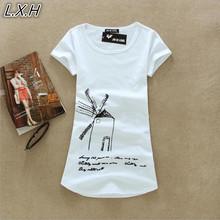 Buy 2017 New Summer Women Roupas Femininas Blusas Tops Women Short Sleeve Tees Costume Clothing Womens 3D T-Shirt Women T Shirt for $6.99 in AliExpress store