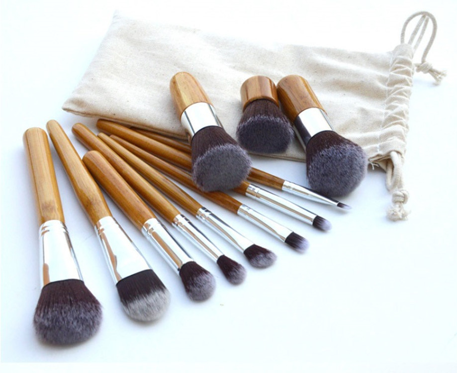 11pcs 6pcs Professional makeup brushes tools accessories Wood Handle Make Up Cosmetic Eyeshadow Foundation Concealer Brush<br><br>Aliexpress