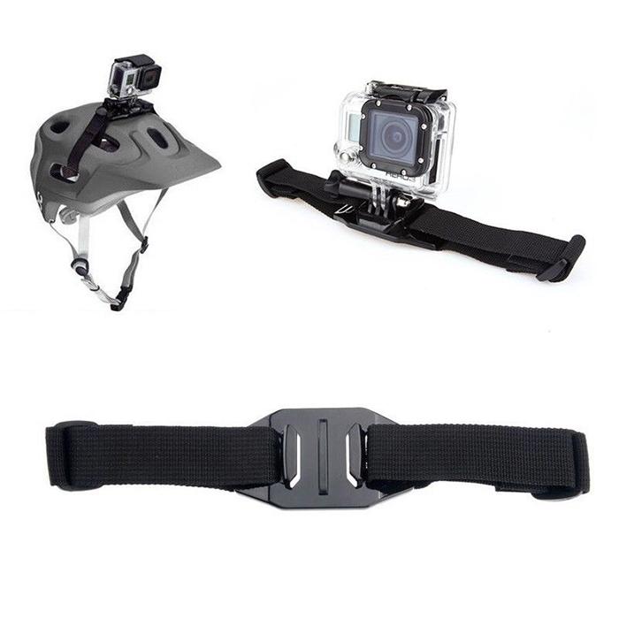 Action Camera Hero4 Session Accessories Helmet Strap Mount fit Gopro Hero 3+,Xiaomi yi,SJCAM SJ4000,AEE,SONY mini cams - Shenzhen Unique Bright Technology Co., Ltd store