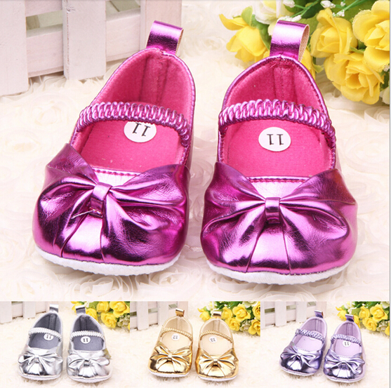 Spring 0 1 year old baby girls princess shoes soft outsole