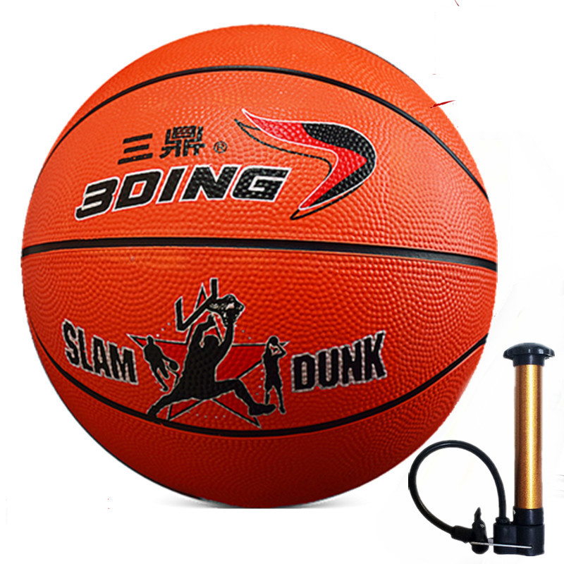 Official Size7 Rubber Indoor Outdoor Leather Basket Basketball Ball Training Equipment With Pump Pin and Net(China (Mainland))