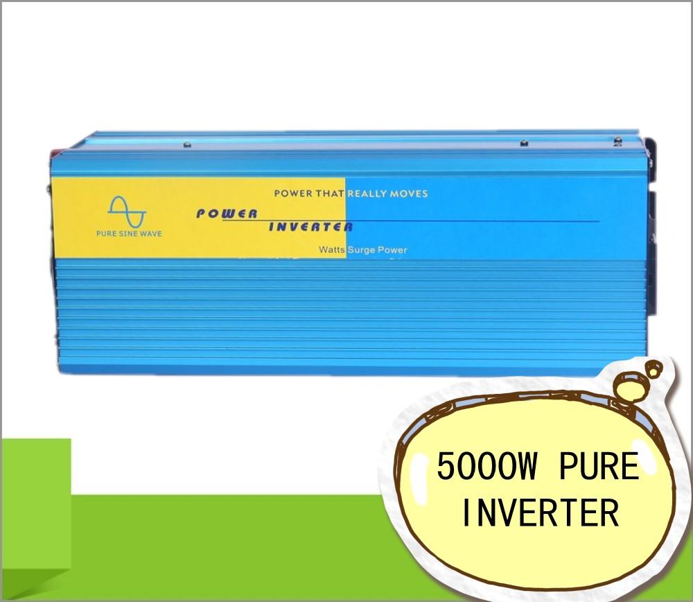 5000W Inversor pure sine wave max 10000W power DC12V/24V AC100V-240V 50Hz/60Hz for solar wind home use<br><br>Aliexpress
