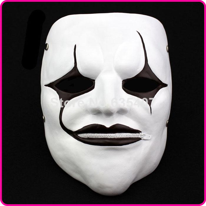 Gmask Slipknot Joey Cosplay Mask Red Halloween white slipknot mask male party mask masquerade masks(China (Mainland))