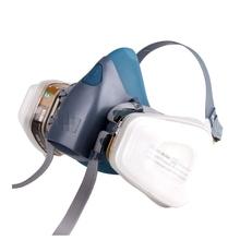 7502 7 Stück Anzug Atemschutz Malerei Spraying Gesicht Gasmaske halbe gesichtsmaske für den bau/mining Kostenloser Versand(China (Mainland))