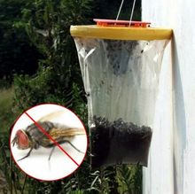 Disposable Nontoxic Flytrap Flies Mosquito Killer Pre-Baited Traps Pest Control Free Shipping(China (Mainland))