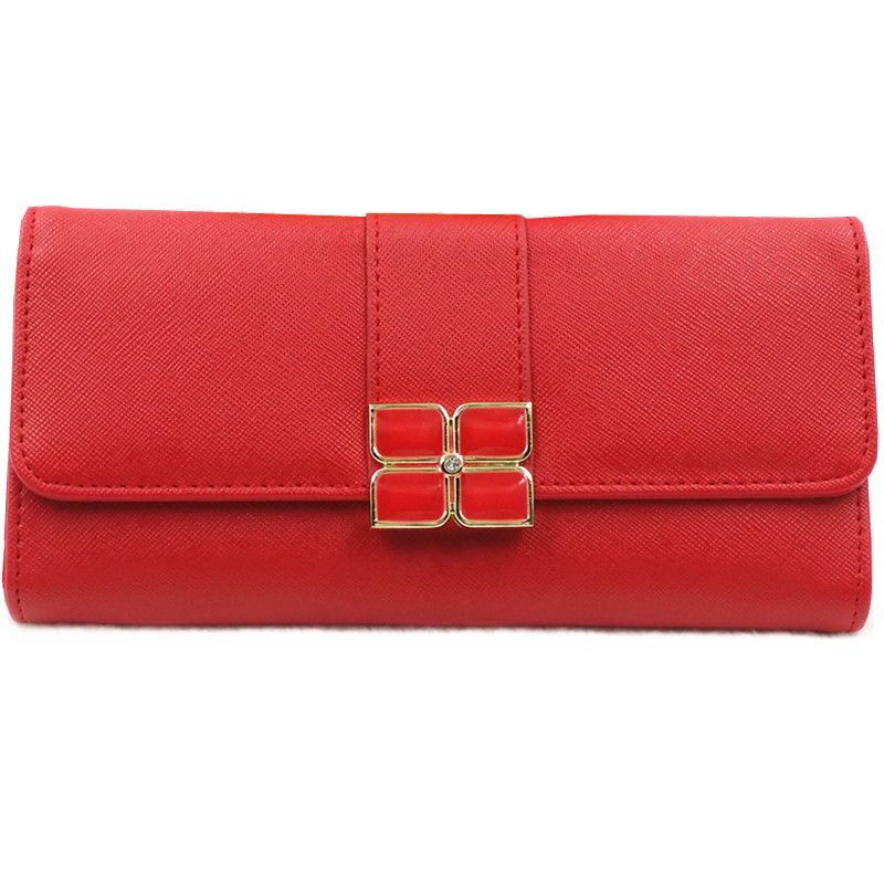 New Fashion Women Wallets PU Leather Wallet Women's Long Design Purse card holder wallets phone bag Color Clutch bag for gift(China (Mainland))