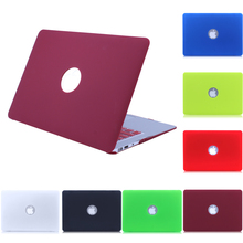 NEW Matte Case For Apple Macbook Air Pro Retina 11 12 13 15 Laptop Cover case For Mac book pro 13.3 inch case(China (Mainland))