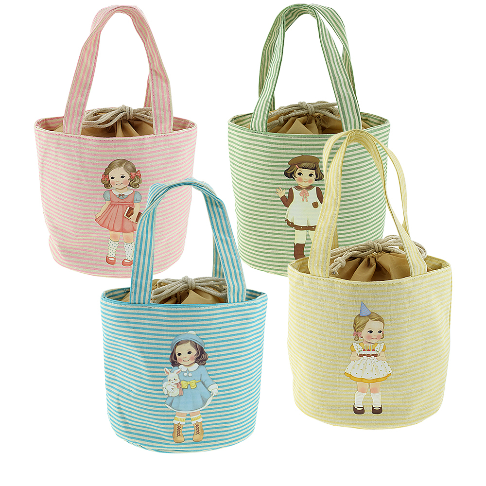 Prevalent Doll Pattern Women Girl Lady Kids Thermal Cooler Insulated Lunch Carry Bag Box Picnic Pouch<br><br>Aliexpress