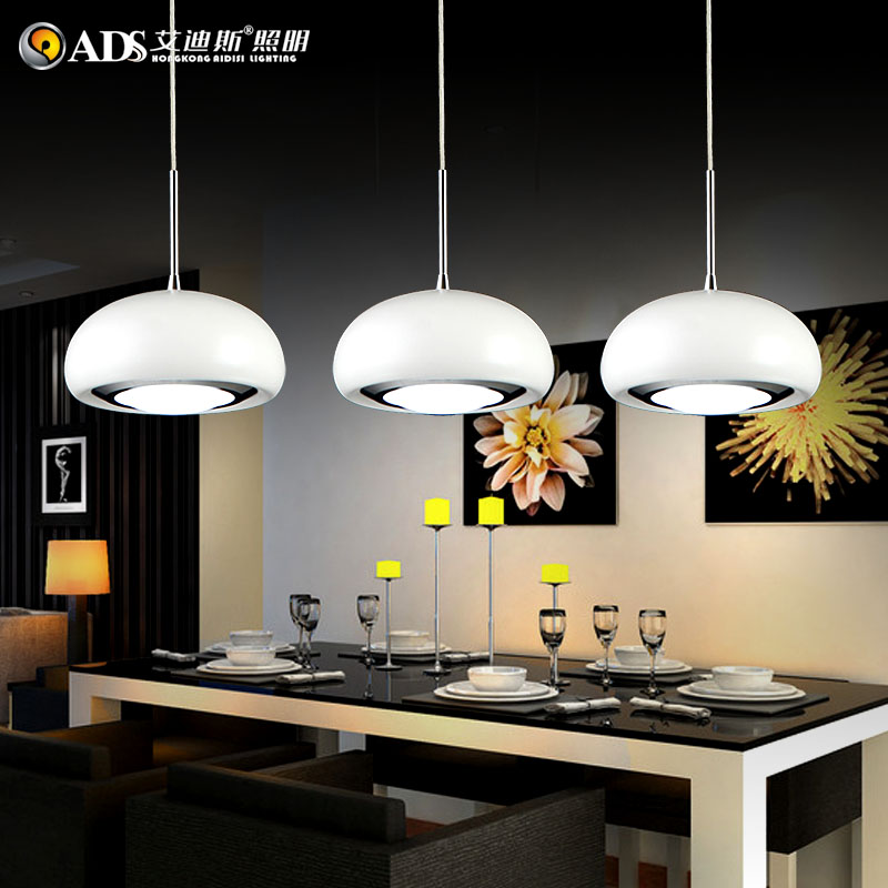 Creative 3 heads restaurant light led dining room bar for 3 light dining room light