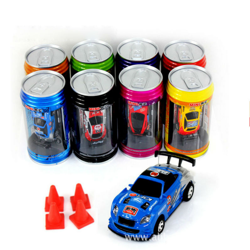 2016 New Coke Can Mini RC Car Speed RC Radio Remote Control Car 4ch Micro Racing Cars Toy Gifts Promotion(China (Mainland))