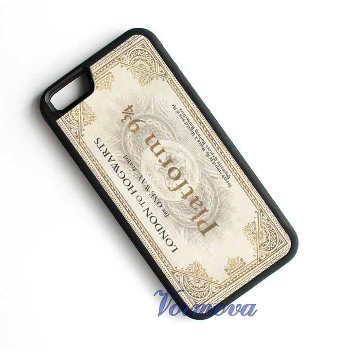 Harry Potter 9 34 Train Ticket protection phone cover case for iphone 4 4s 5 5s 5c se 6 6s 7 6 plus 6s plus 7 plus #tm443(China (Mainland))