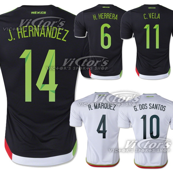 Mexico Jersey 2015 2016 National Team Soccer Jersey Copa America 15 16 Mexico Camiseta Futebol Maillot Camisa Football Shirt New(China (Mainland))