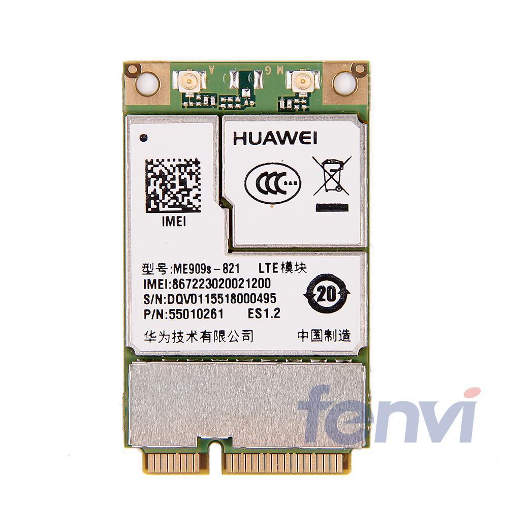 Фотография New Unlocked original HUAWEI 4G Module ME909S-821 MINI PCI-E Wireless WWAN 4G Card for laptop Free shipping