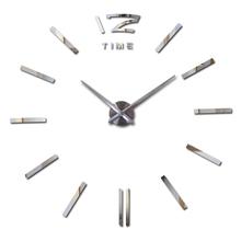 2016 vendita calda orologio da parete grandi orologi da parete decorativo casa  Decor fai da te orologi soggiorno reloj murale wall sticker spedizione  Libero(China (Mainland))