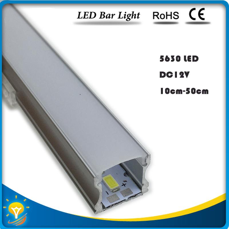 5 x 50cm 12 volt led bar light smd led rigid strip 50cm led rigid strip with aluminium mounting channel