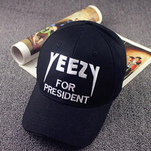 2016 Promotion Adult New Fashion Girls Casual And Letter Yeezy Baseball Cap Bone Gorras Hip Hop Snapback Caps For Women