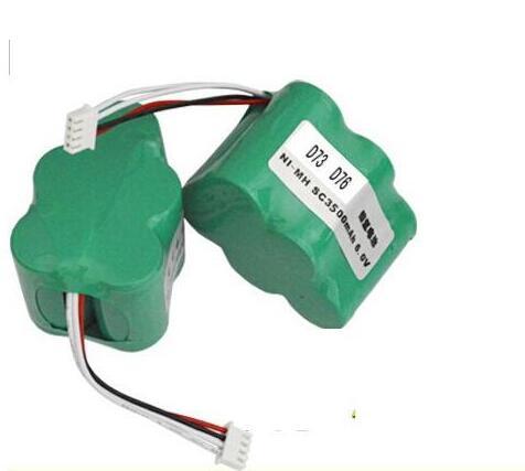 3500mAh 6V 2 Pieces/lot Cleaner Battery for Ecovacs Deebot Deepoo D62 D63 D65 D66 D68 D77 D79 Robotic Vaccum Cleaner Battery(China (Mainland))