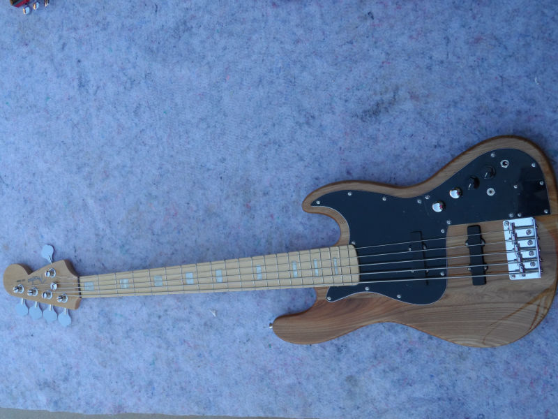 Class bass,Elm piano body,Five string bass(China (Mainland))