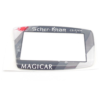 Russian version M5 Glass for Scher-Khan Magicar 5 6 LCD Remote controller Only glass with scotch free shipping