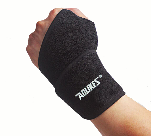1PC Thumb Wrist Support Wraps Straps Weight Lifting Palm Sports Wristband Gym Fitness Safety  Winding Hand Bands Belt Bandage
