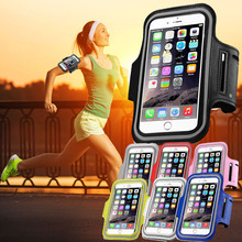 5.2-5.7 inch Cellphone Running Arm Band Case For Doogee ht7 Oukitel k10000 Sport Phone Bag For Samsung Galaxy Note 2 3 4 5 Belt
