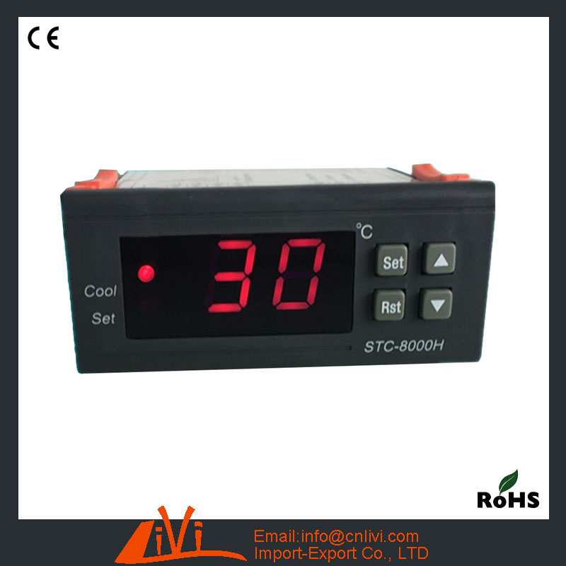 STC-8000H Temperature Controller Electronic Thermostat With Fan Defrost Freezer Function Meat Cabinet Temperature Controller(Hong Kong)