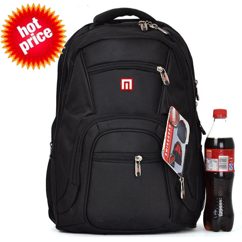 High Quality Laptop Backpack Double-shoulder School Bag Laptop Bag Men Notebook Bag Women Travel Backpack Casual Hiking Backpack(China (Mainland))