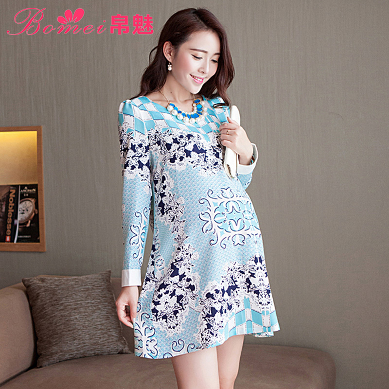Платье для беременных m l XL D2420