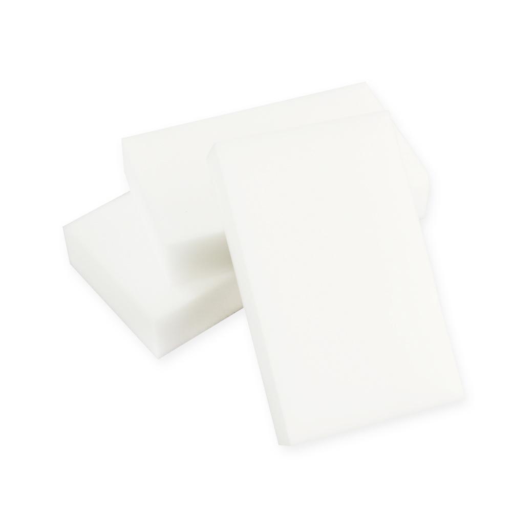 200pcs/lot White Melamine Sponge Magic Sponge Eraser Dish Cleaner for Kitchen Office Bathroom Comeputer Cleaning(China (Mainland))