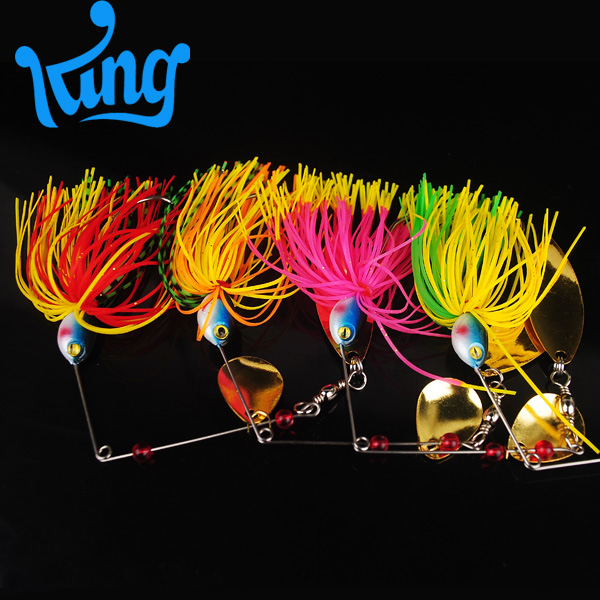Fishing Lure Bait 17g 10cm Artificial Lures Spinner Lure Bait Fishing Armed Tackle With Feather Hook Fish Spinner Bait Lures(China (Mainland))