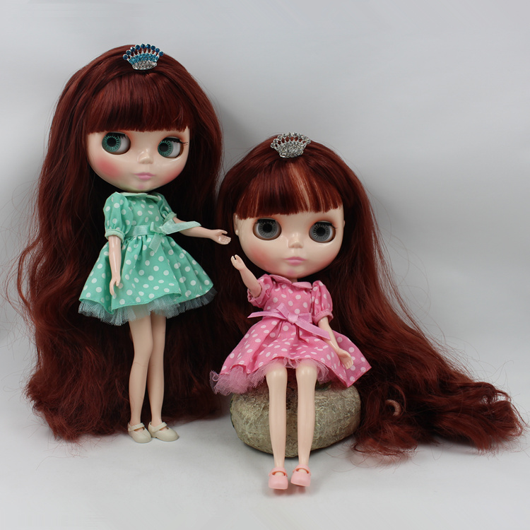 Liu Haichang Takar Blyth cloth doll brown hair b women naked big sister doll suitable for changing baby<br><br>Aliexpress