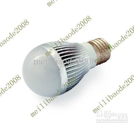 100pcs A71 LED Ball Light Bulb Lamp 3W Ball Lights E27 LED Ball Steep Light LED Energy-Saving Lamps(China (Mainland))